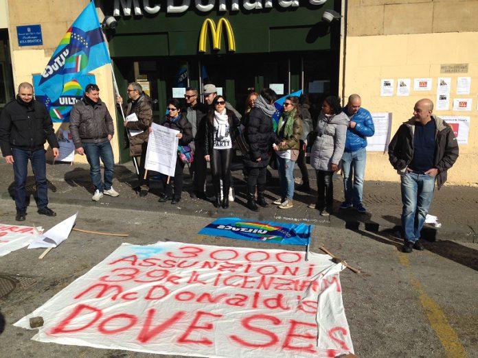 Dipendenti-McDonalds-in-sciopero