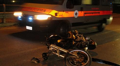incidente-moto-notte-monza