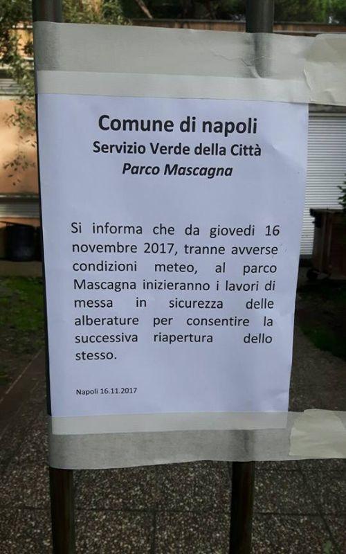 Napoli_parco_Mascagna_avviso