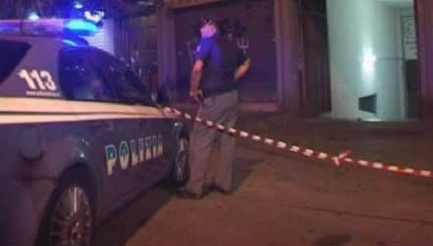 polizia-omicidio-notte