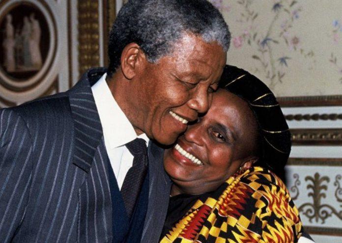 Nelson-Mandela e Miriam Makeba