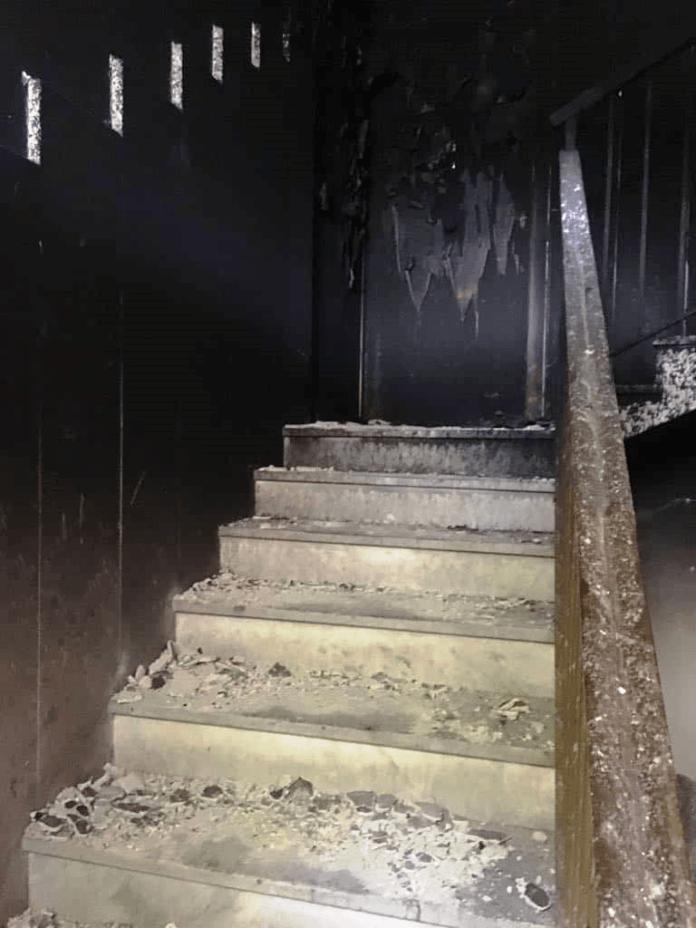 scala bruciata