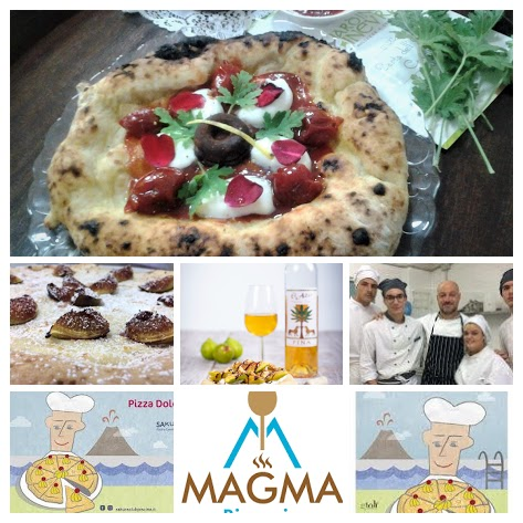 pizza dolce magma