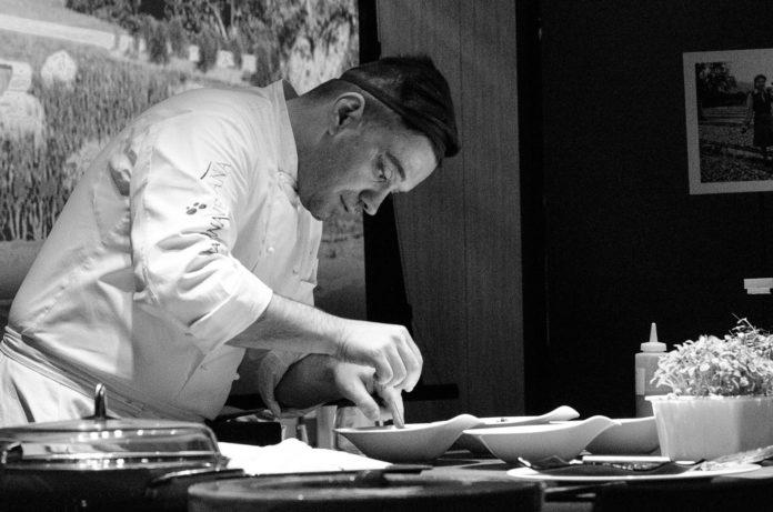 Alfonso Crisci in cucina
