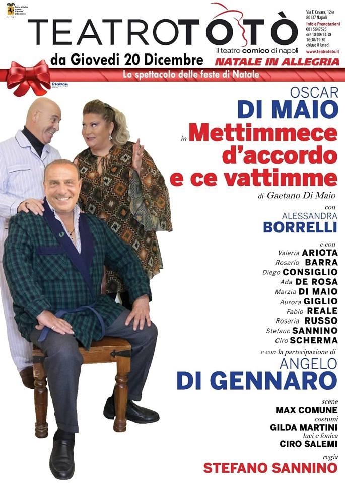 OSCAR DI MAIO AL TEATRO TOTO' LOCANDINA
