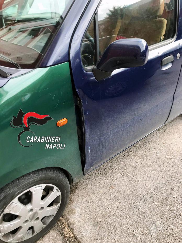 Monteruscello ladro auto