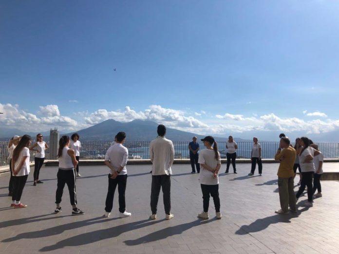 Lezioni in terrazzo
