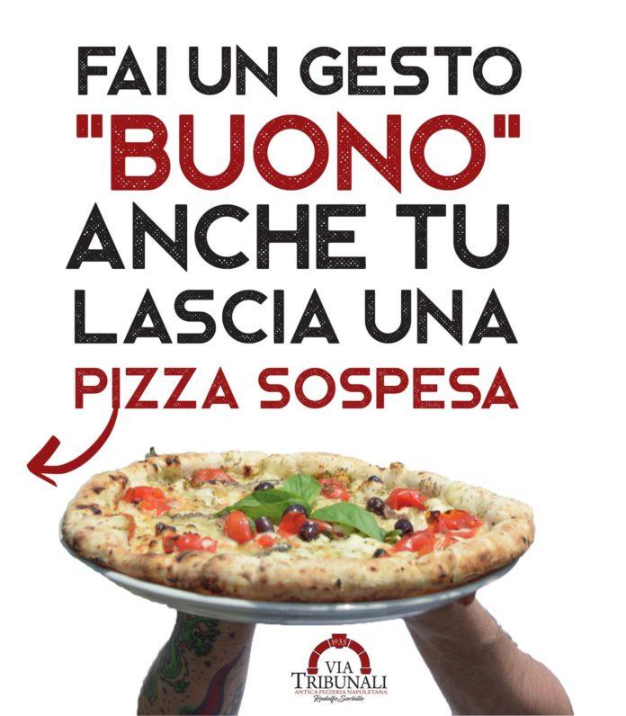 PIZZA SOSPESA SORBILLO