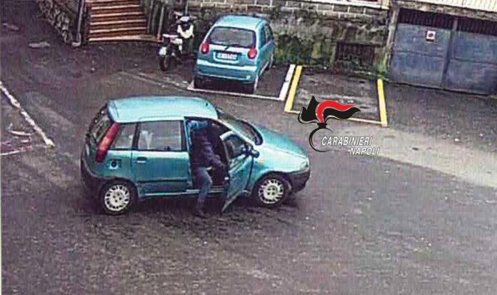 furto auto vico equense